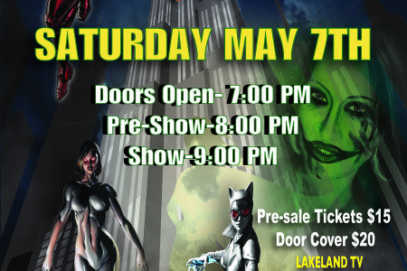 Sat. May 7th – WLP Presents: Invincible...