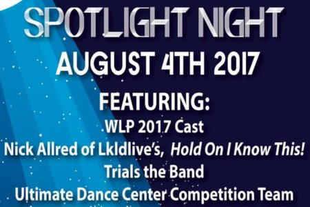 Fri. Aug. 4th, 2017 – WLP's 3rd...
