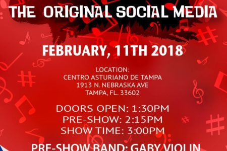 Sun. February 11th – Music: The Original...