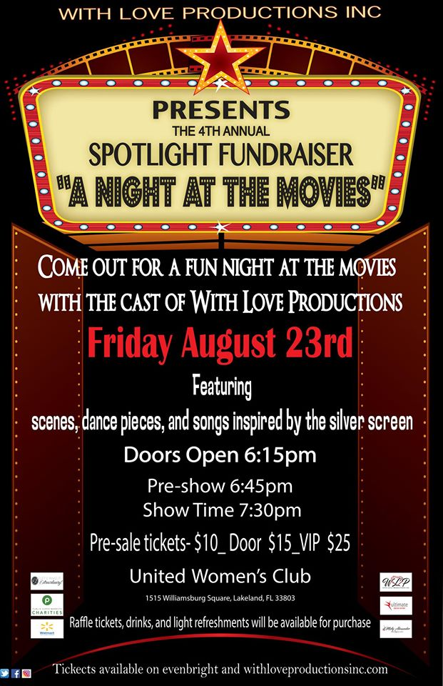 WLP's 4th Spotlight Night Fundraiser: A Night at the Movies